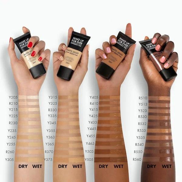 Kem nen MAKE UP FOR EVER Matte Velvet Skin Full Coverage Foundation1 SIRO Cosmetic