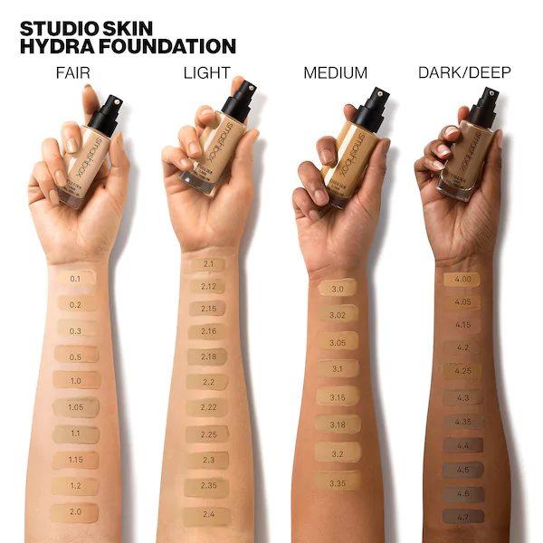 Kem nen Smashbox Studio Skin 24 Hour Oil Free Hydra Foundation1 SIRO Cosmetic