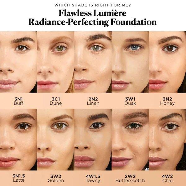 Laura Mercier Kem nen lam rang ro da perfecteur declat Flawless Lumiere3 SIRO Cosmetic