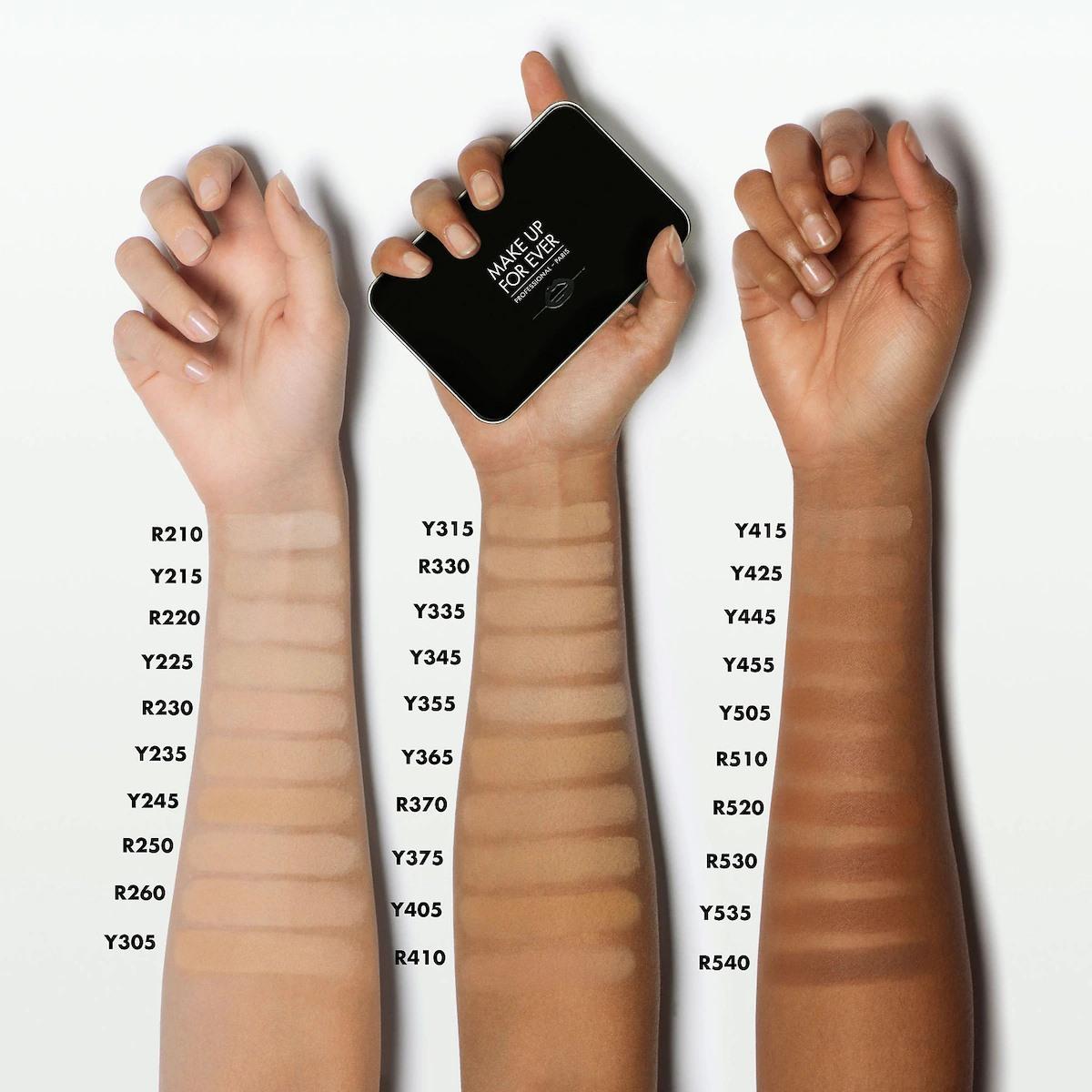 Phấn nền Matte Velvet Skin Blurring Powder Foundation của MAKE UP FOR EVER 1
