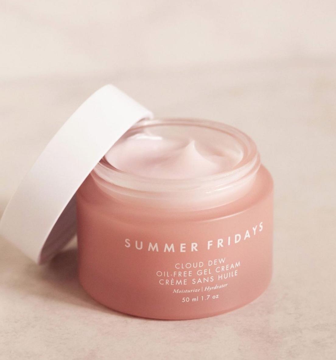 Summer Fridays Releases New Cloud Dew Oil-Free Gel Cream Moisturizer — mmirandalaurenn
