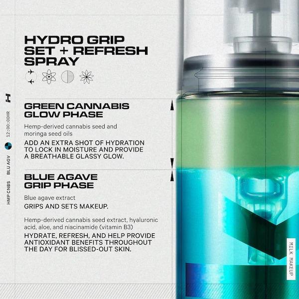 Xit khoang khoa trang diem Hydro Grip cua thuong hieu MILK MAKEUP1 SIRO Cosmetic