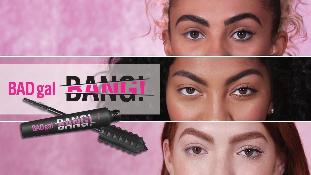 BADgal BANG! | Volumizing Mascara for Any Lash! - YouTube