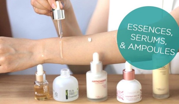 ampoule vs serum vs essences